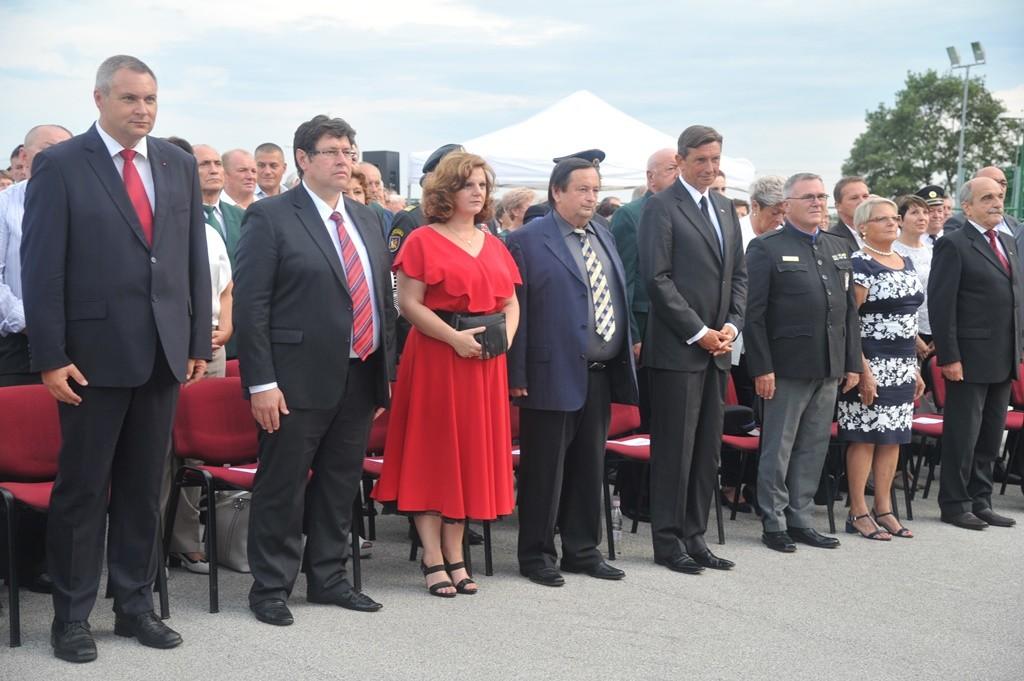 Praznovanje državnega praznika Dneva združitve prekmurskih Slovencev z matičnim narodom